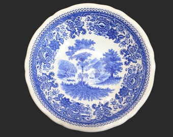 VILLEROY & BOCH Small Bowl, Blue and White Porcelain, 'Burgenland' Pattern