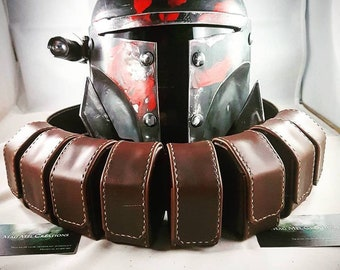 Boba fett Belt, Screen accurate ,  Brown or white