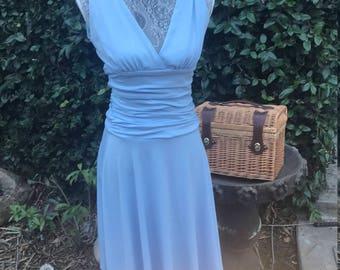Vintage baby blue dress