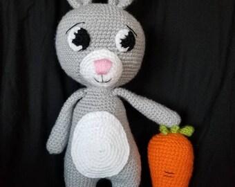 Amigurumi Bunny- made to order
