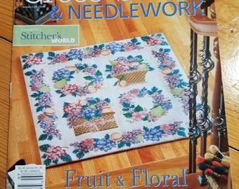 Cross stitch and needlework, magazine, July 2006