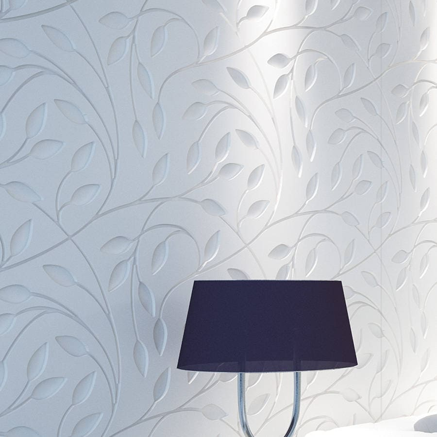 Floral 3D Wall Panels Bas Relief Wall Paneling