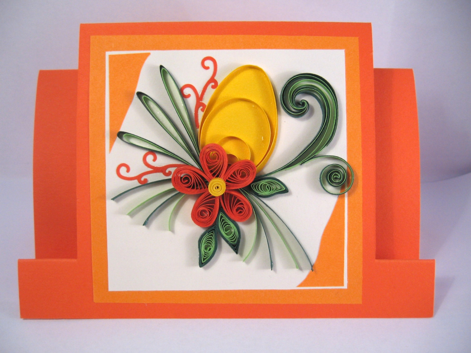 Easter card handmade greeting card paper quilling card with zoom kristyandbryce Images