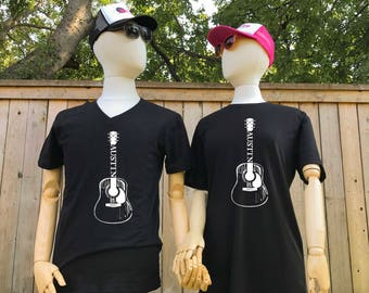 Austin Guitar Graphic Tee