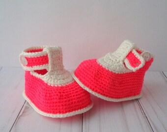 CROCHET PATTERN -Crochet Baby Booties Pattern- Pattern Crochet Baby Sandals -Crochet Baby Shoes