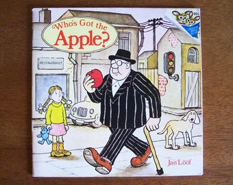 Who's Got the Apple by Jan Loof - Random House Pictureback - Book Without Words