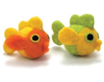 Fish Feltworks Ball Learn Needle Felting Kit