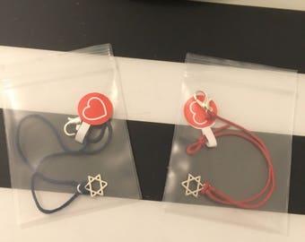 Star of David bracelet made in Israel