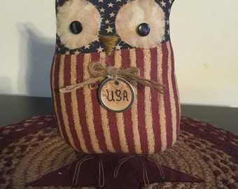 Hootie the Patriotic Owl