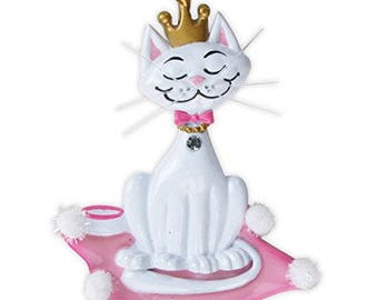Kitty Princess Personalized Tree Ornament