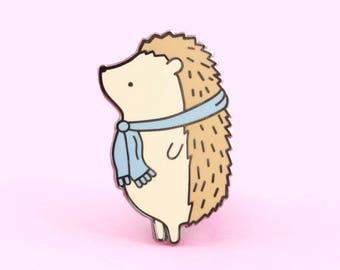 Hedgehog Pin, hedgehog enamel pin, cute enamel, enamel pins, lapel pin