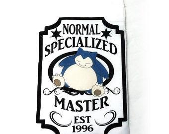 XL Snorlax Pokemon Normal Specialized Master Drawstring Dice Bag