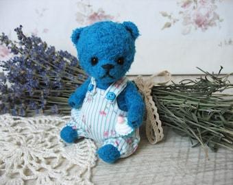 Crochet bear Valera, toy handmade, crochet teddy bear, crocheted toys