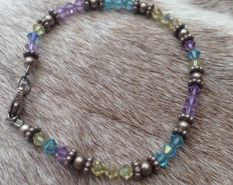 Swarovski Crystals Beaded Bracelet