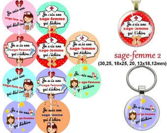 60 digital images for cabochon wise woman 2. 30 25 18 x 18, 20 and 25 x 13, 12mm