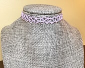 PASTEL PURPLE CHOKERS, Ta...