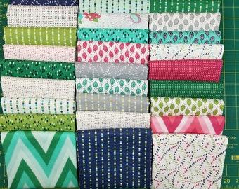 Color Me Happy by V&Co for Moda Fabrics  32 Fat Quarters