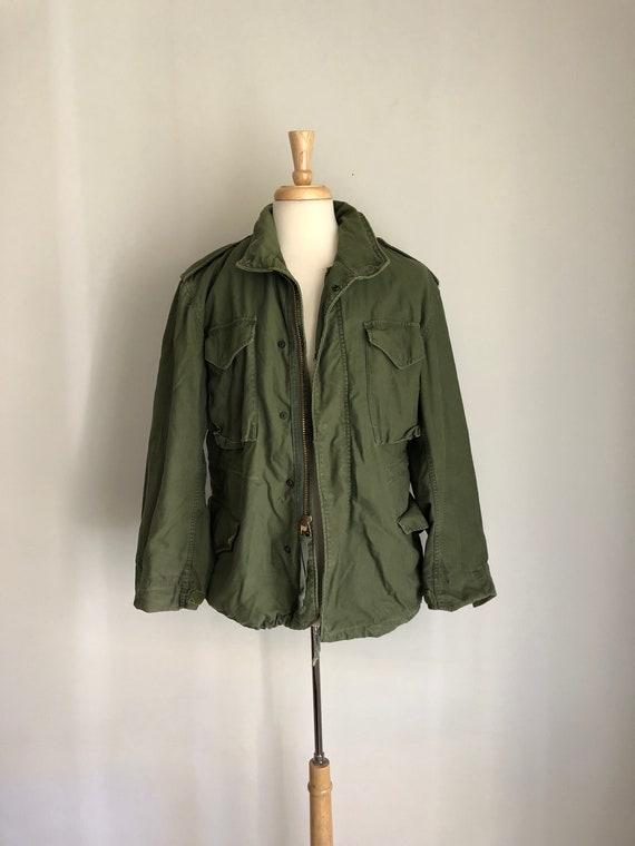 Airborne Jacket US Hood Army w Fatigue Vintage IqCv6wE8Cn