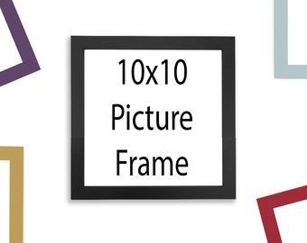 10x10 Picture Frame - Multiple Colors