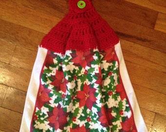 Crochet Pattern Hanging Towel