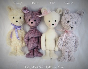 Baby's First Bear -  PATTERN by Emma's Bears