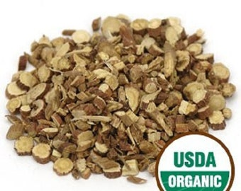 Licorice Root, Organic C/S 1 oz or 8 oz