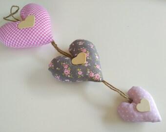 Three hearts pendant