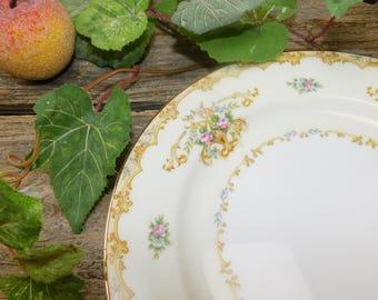 Set of 4 Vintage Noritake Acacia Luncheon Plates