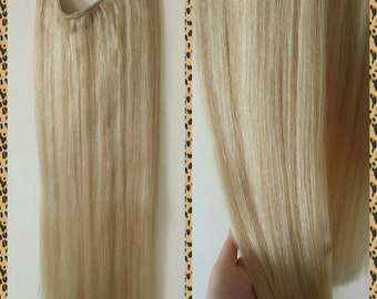 "24"" 200g Magic-Halo DELUXE Miracle wire human hair extensions, 200 grams./ 24 INCHES !!! WOWW"