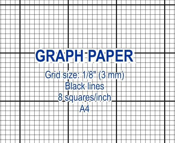 graphed paper