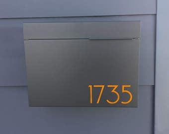 modern wall mount mailbox. Delighful Wall Black Larger Modern MITCH B Mailbox Mailbox Wall Mounted Mailbox   Contemporary 1411B In Mount Mailbox I