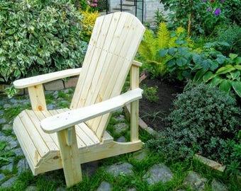 """Garden chair """"Adirondack"""""""