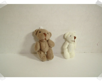 Tiny Bears / 2 Color Choices/ Single/ Craft Supplies*