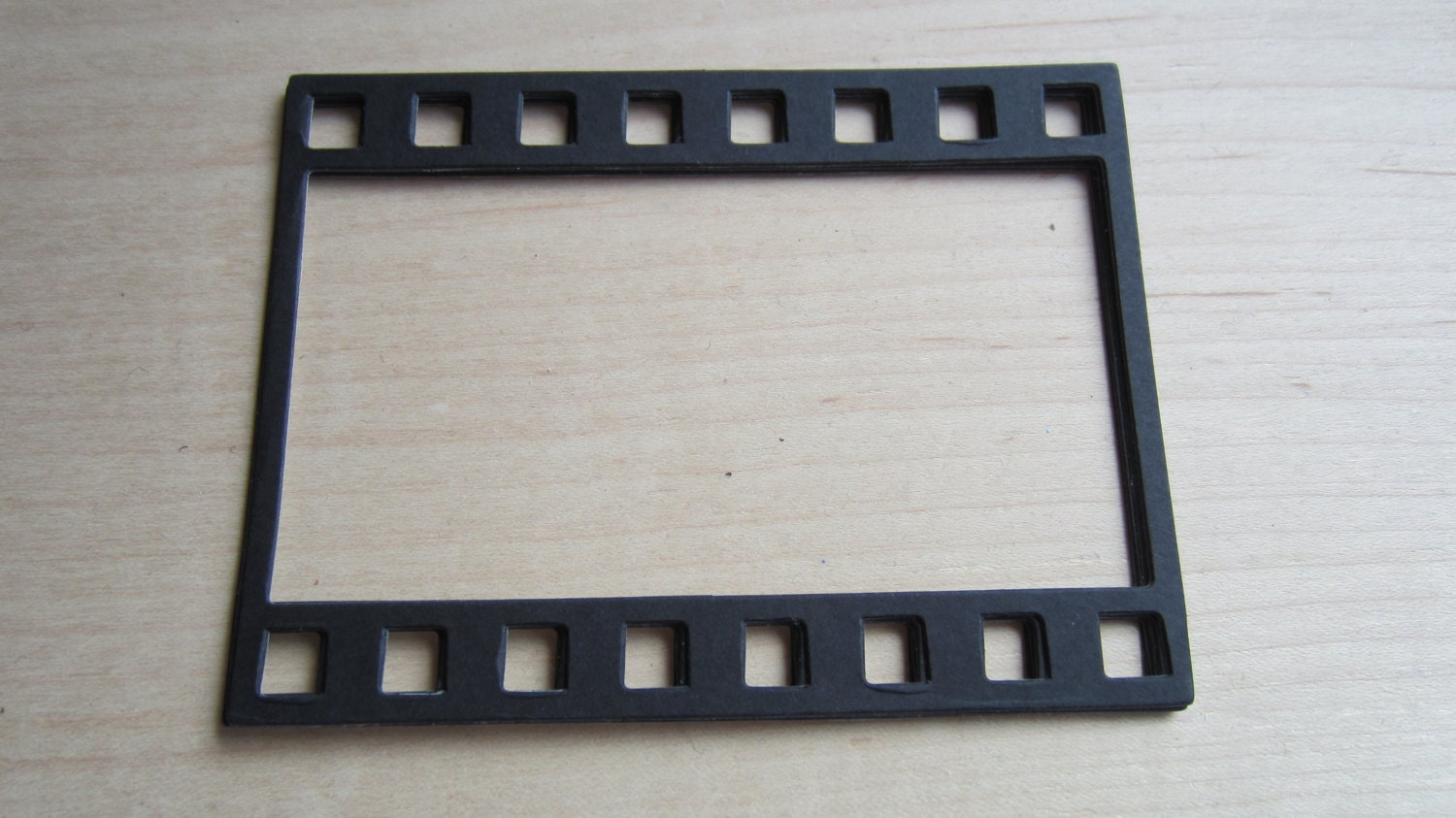 Photo Strip Frames-Film Strip-Stiffened Felt Black Film Strip Frame ...