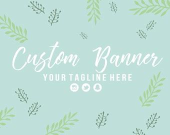 Custom YouTube Channel Art Banner