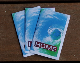 Home: A Climate Change Zine - DIY Publication - Global Warming Zine - Art Zine - Artist Book