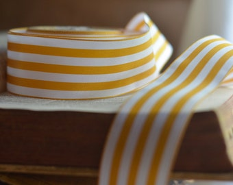 striped gold and white ribbon