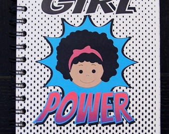 Girl Power Notebook Journal Agenda