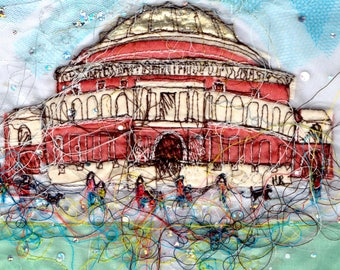 A little trip to the Albert Hall Card