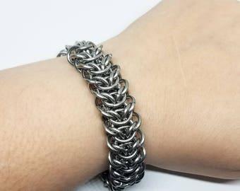 Elf Bridge Stainless Steel Chainmaille Bracelet