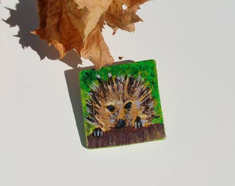 Pin a hedgehog in the Meadow
