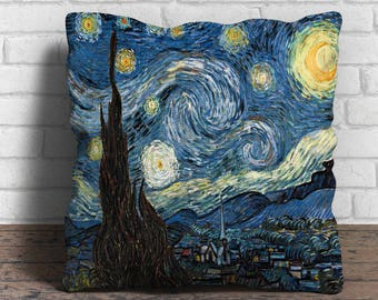 Starry Night - Cushion Cover - 18x18 inches