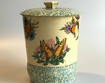 Antique Butterfly Tin made in England