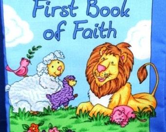 First Book of Faith children's cloth book