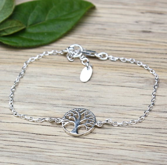 tree of life bracelet Silver 925 on chain
