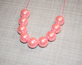 RTS Light Pink Pearl Necklace