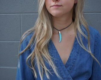 Turquoise Blue Choker