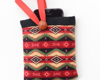 small padded phone pouch