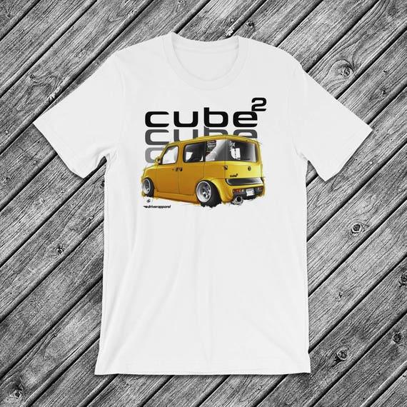 JDM Nissan Cube T Shirt Stance Slammed Low Custom