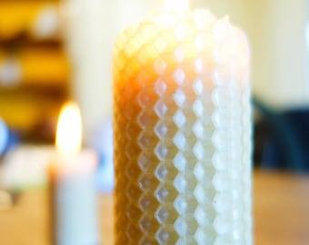 DIY Candles | Rolled Pillar Candles | Waldorf Kit | Beeswax Sheets | Beeswax Candle Kit | Candle Making Supplies | DIY Candle Making Kit